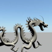 Sculpture Classic Chinese Dragon