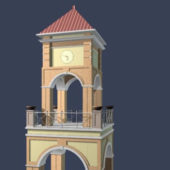Church Bell Tower Building