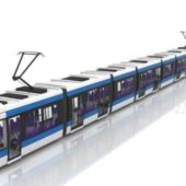 Electric Streetcar Vehicle