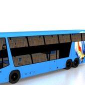 Double Decker Bus Vehicle