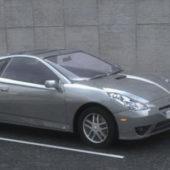 Grey Car Toyota Celica