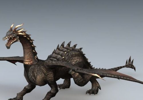 Black Dragon Animal