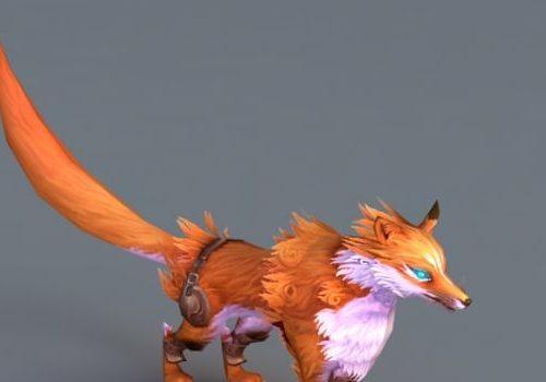 Animated Red Fox Animal