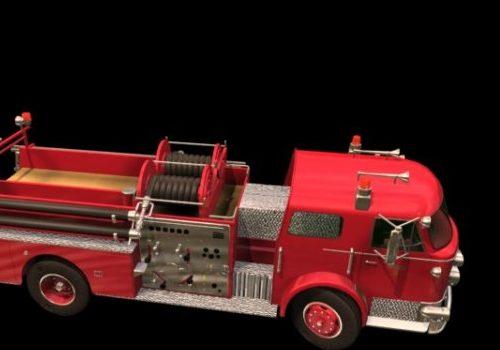 Red Pumper Fire Truck