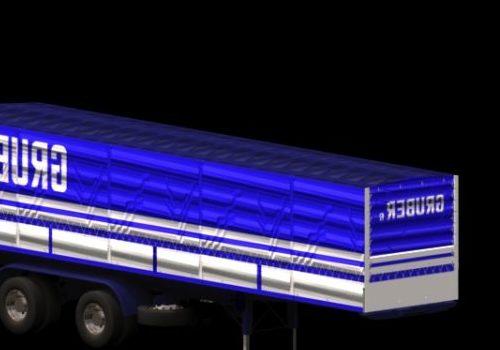 Semi Trailer Vehicle