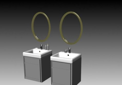 Bathroom Vanity Sanitary Set