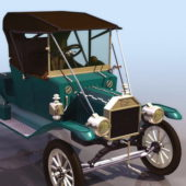 Vintage Ford Touring Car 1913