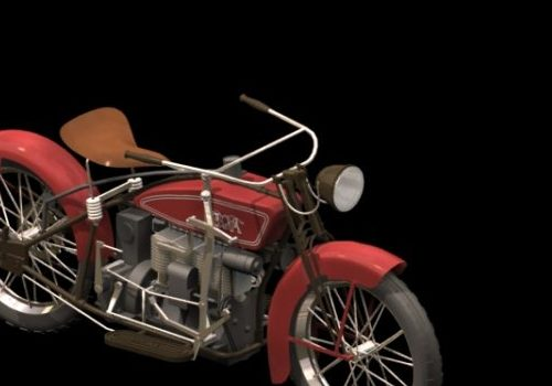 Motorcycle 1924 Ace