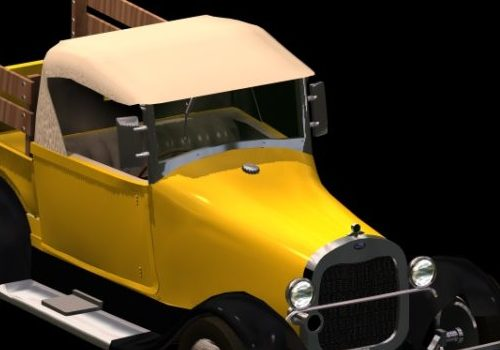 1929 Ford Pickup Car