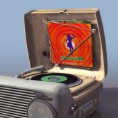1930s Portable Gramophone