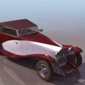Vintage 1935 Delage D8-15 Cabriolet