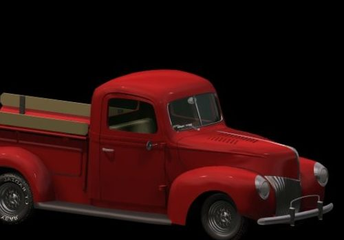 Ford V8 Pick-up Truck 1939 Car