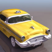 Vintage 1940s Buick Taxi Car