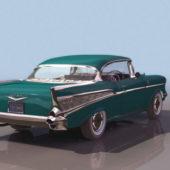 Chevrolet 2-door Hardtop Car 1957
