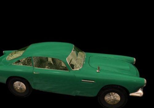 Aston Martin Db Sports Car 1958