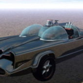Old Batmobile Vehicle