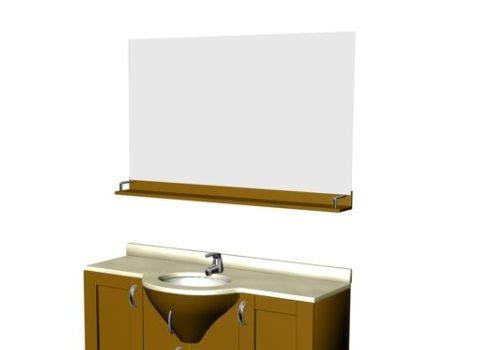 2 Doors Cabinet Bathroom Vanity