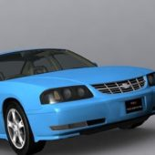 Blue 2003 Chevrolet Impala Car
