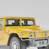 Yellow Hummer H1 Alpha 2006 Car