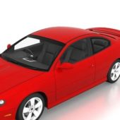 Pontiac Gto Red Car 2006