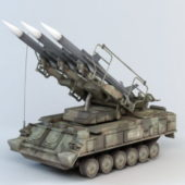 2k12 Kub Missile Weapon