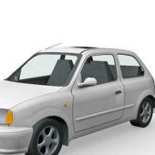 Hatchback 3 Doors Nissan Car
