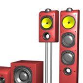 Electronic 3.1 Sound System