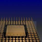 Electronic 386dx Cpu