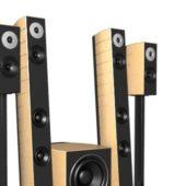 Electronic 4.1 Speaker System
