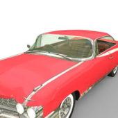 Red Cadillac Eldorado Car