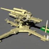 Military 88mm Artillery