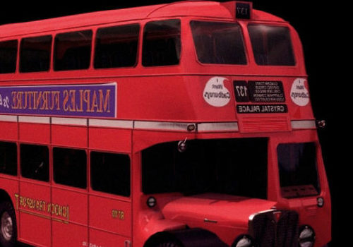 Red Renown Double-decker Bus