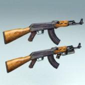 Russian Ak-47 Gun