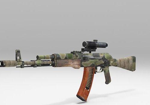 Ak Rifle Gun