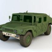 General Humvee Military Vehicle