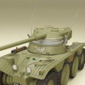 Amx-13 French Light Tank