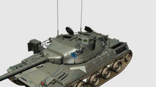 Military French Amx-30 Tank