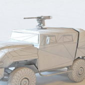 Amz Infantry Mobility Truck Vehicle