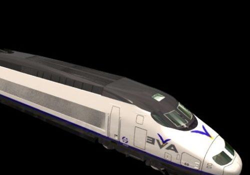 Ave High Speed Train Vehicle