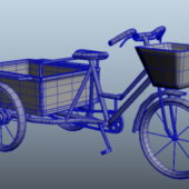 Tricycle Cart Bicycle