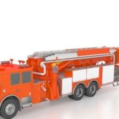 Aerial Apparatus Fire Truck Vehicle