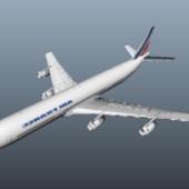 Air France A340 Plane