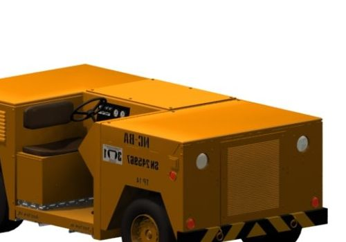 Vehicle Aircraft Towing Tractor