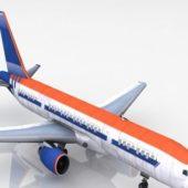Commercial Airplane Passenger Plane