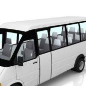 Airport Minibus Vehicle
