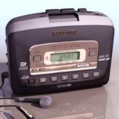Vintage Walkman Audio Cassette Player