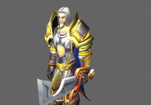Alexandros Mograine Game Character