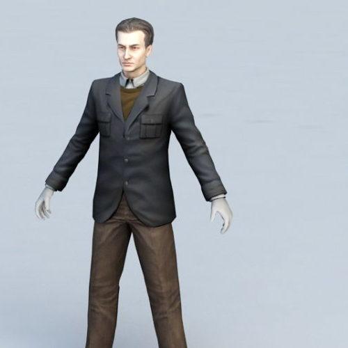 Alien Character Lance Bishop