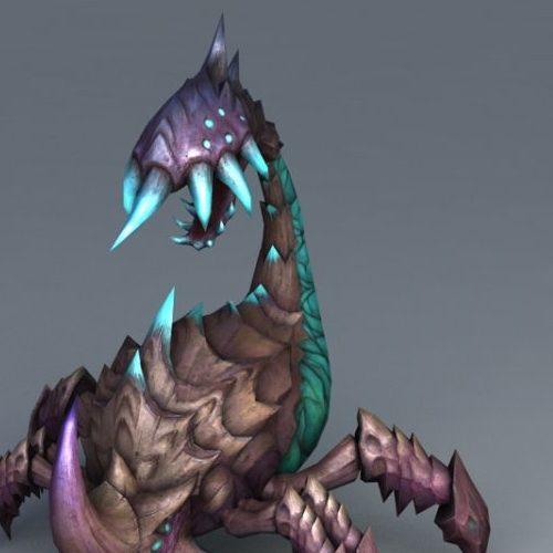 Alien Scorpion Bug Gaming Animal