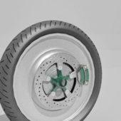 Car Alloy Wheel V1
